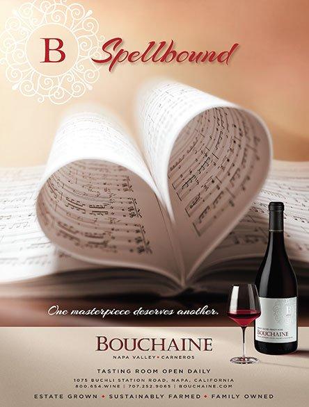 Bouchaine B Spellbound Ad