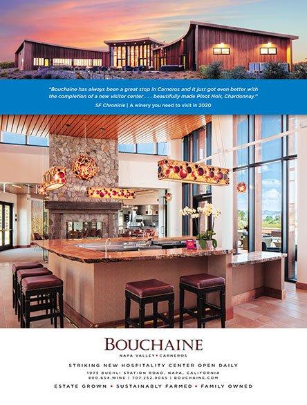 Bouchaine Tasting Room Ad