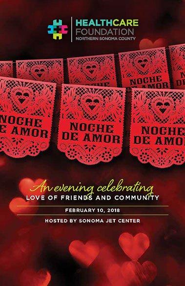 Noche De Amore Program Poster