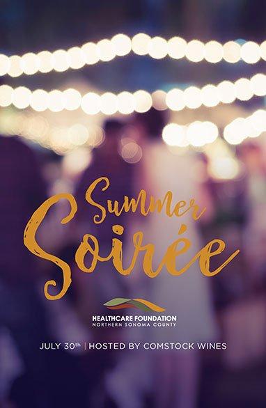 Summer Soiree Program Poster